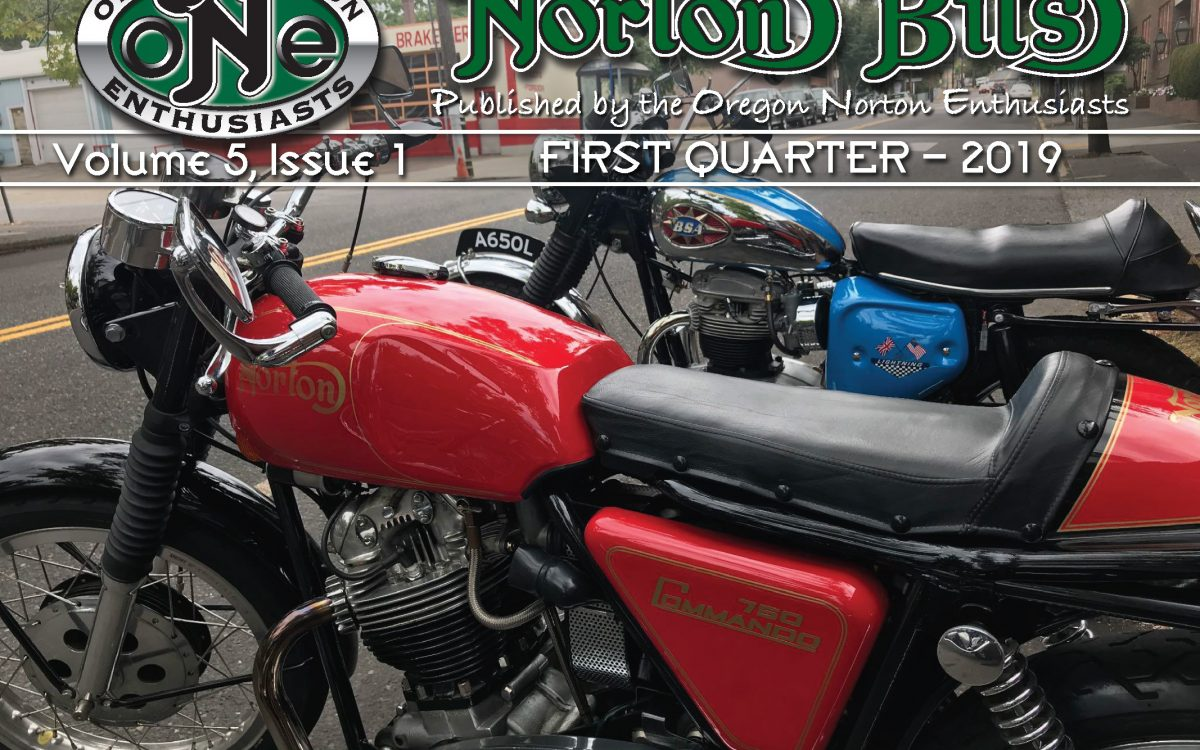 Norton Bits Vol. 5 Issue 1 – First Quarter 2019