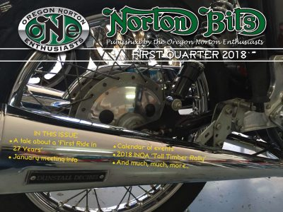 Norton Bits Vol. 4 Issue 1 – First Quarter 2018