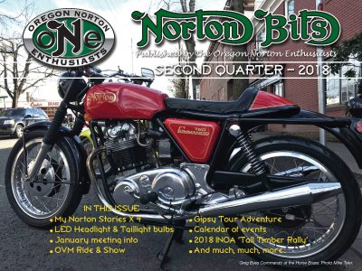 Norton Bits Vol. 4 Issue 2 – Second Quarter 2018